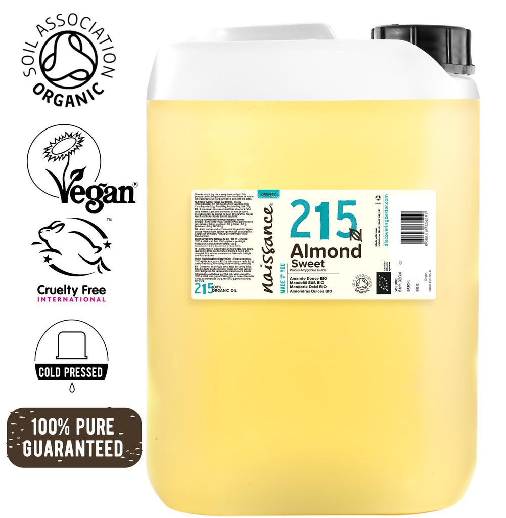 Almond Sweet Organic Oil XL 5 Litre