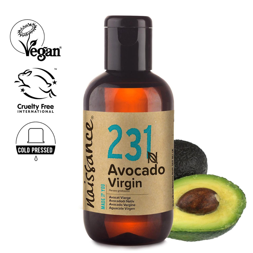 Naissance 100% Pure Cold Pressed Virgin Avocado Oil.