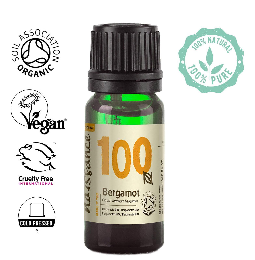 Naissance 100% pure, cold pressed Organic Bergamot Oil