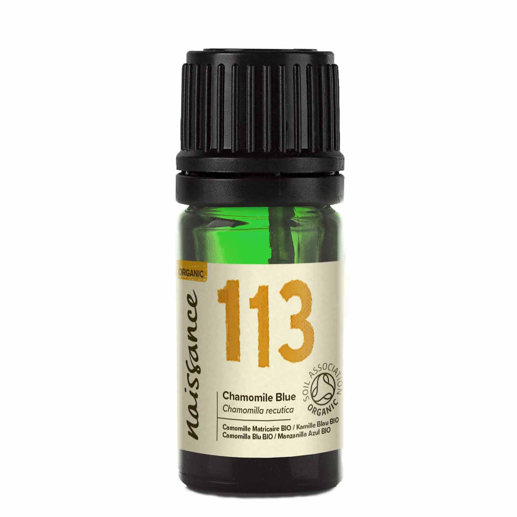 Naissance steam distilled Organic Chamomile Blue Essential Oil