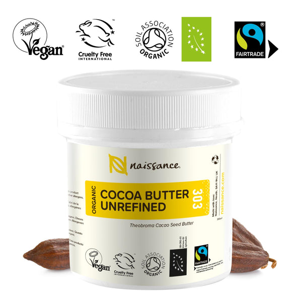Unrefined Fairtrade & organic cocoa butter