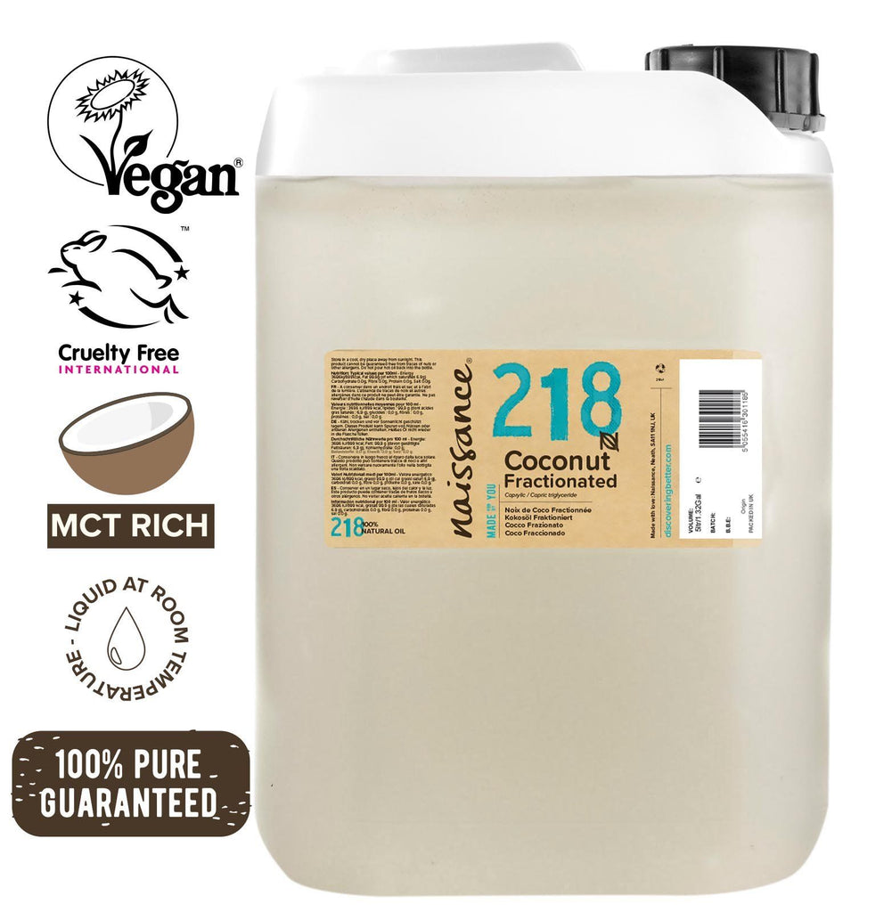 Coconut Fractionated (liquid) Oil XL 5 Litre