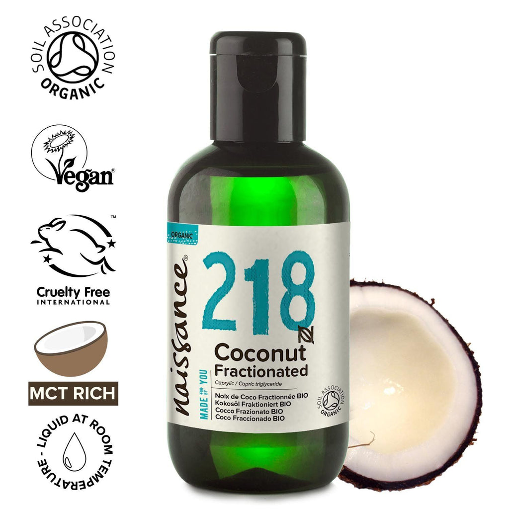 Coconut Fractionated Organic Oil