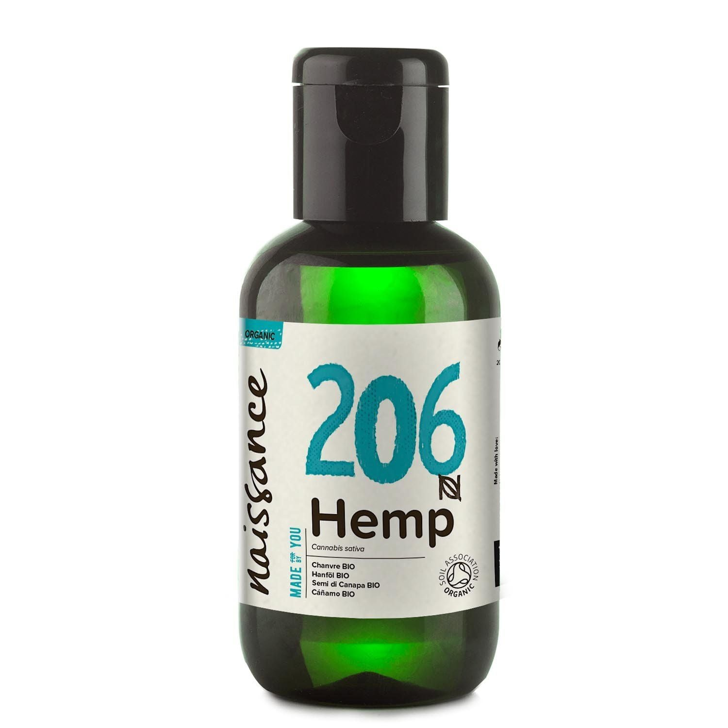 Hemp Seed Virgin Organic Oil