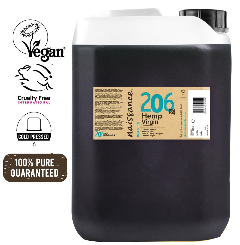 Cold Pressed Virgin Hemp Seed Oil XL 5 Litre