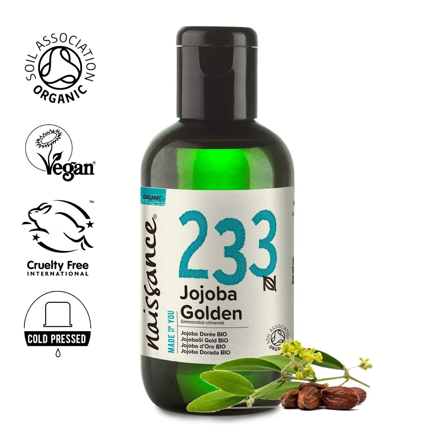 Jojoba Golden Organic Oil
