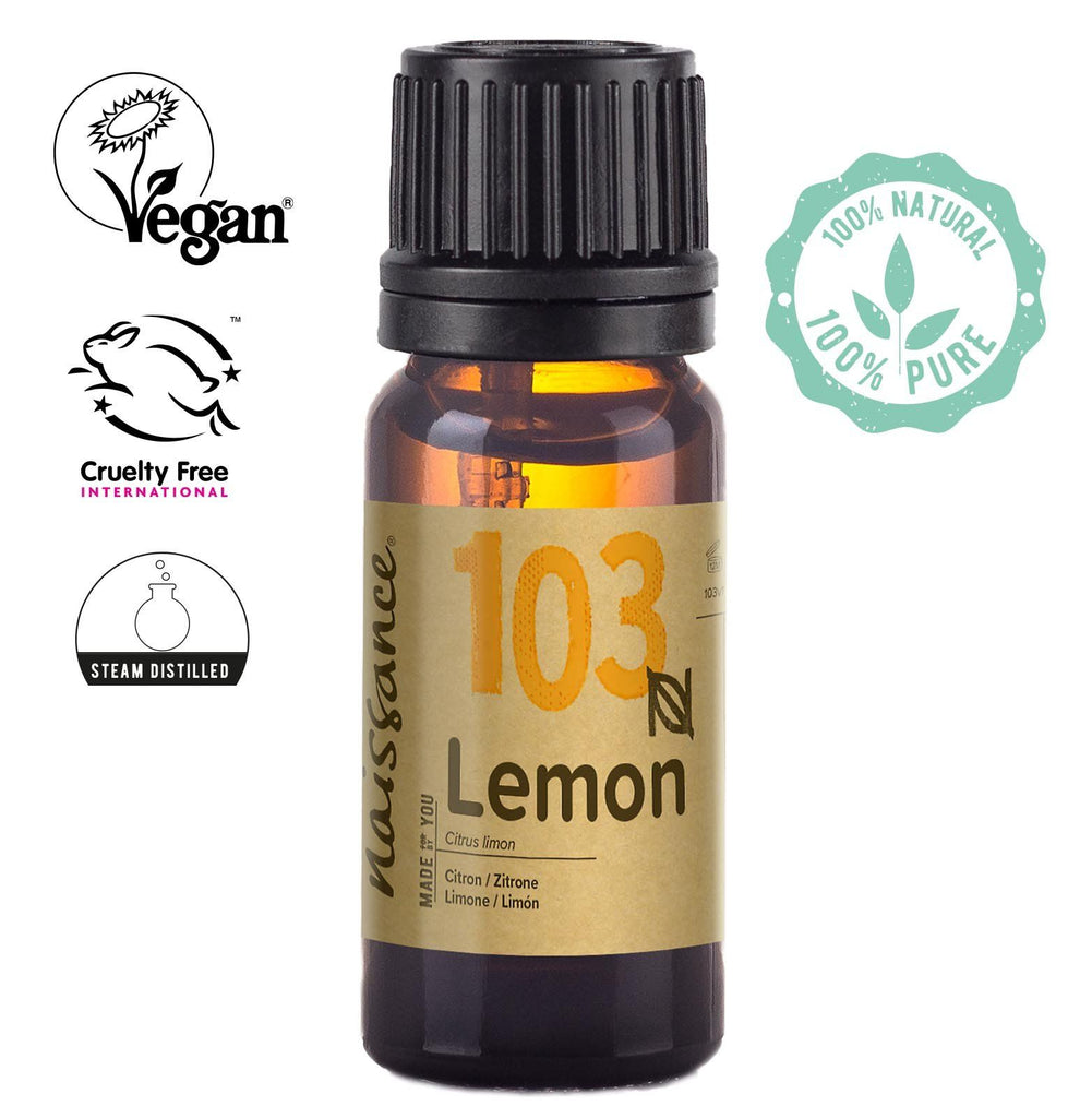 Naissance Pure Steam Distilled Lemon Essential Oil
