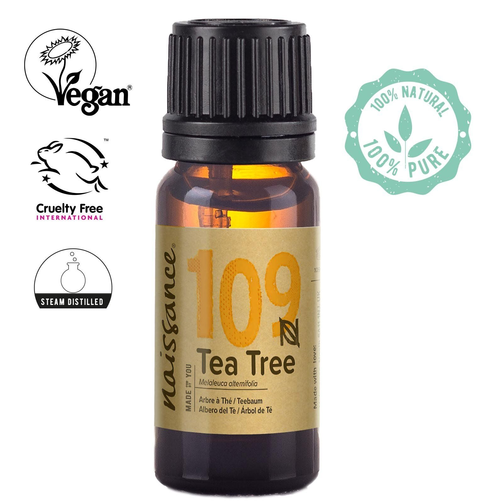 Naissance Steam Distilled Tea Tree Essential Oil