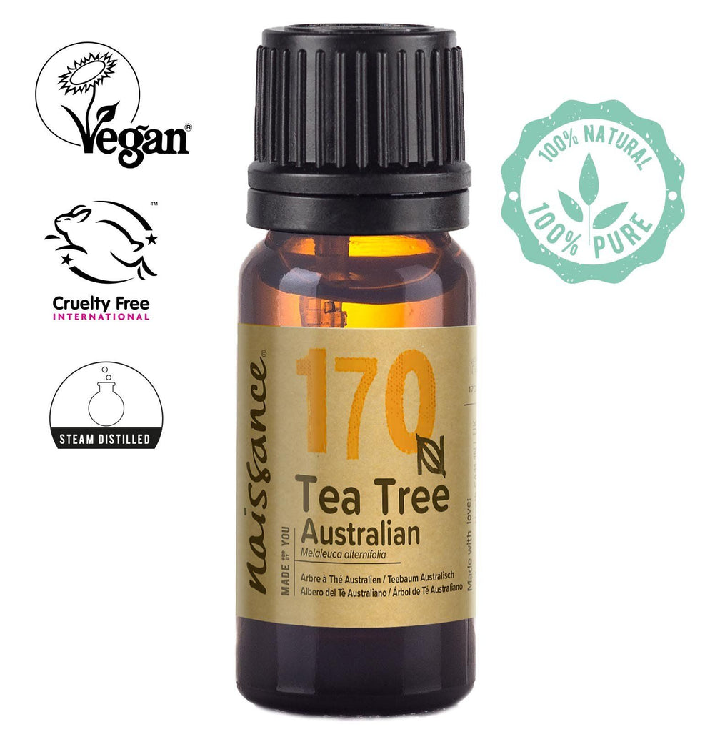 Naissance steam distilled Australian Tea Tree Essential Oil