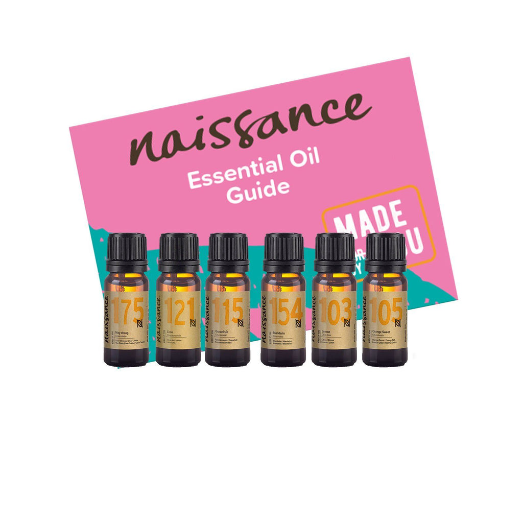 Naissance Top 6 Citrus Essential Oils