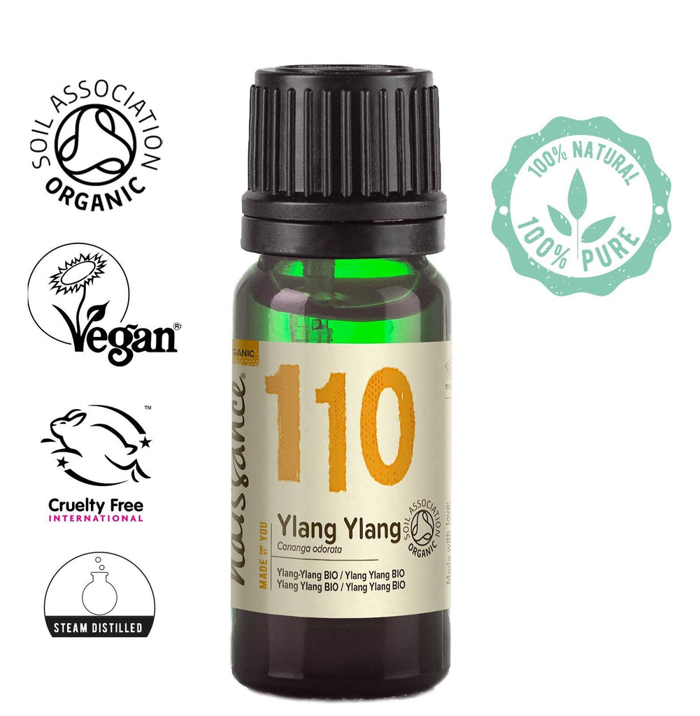 Naissance 100% pure steam distilled Organic Ylang Ylang