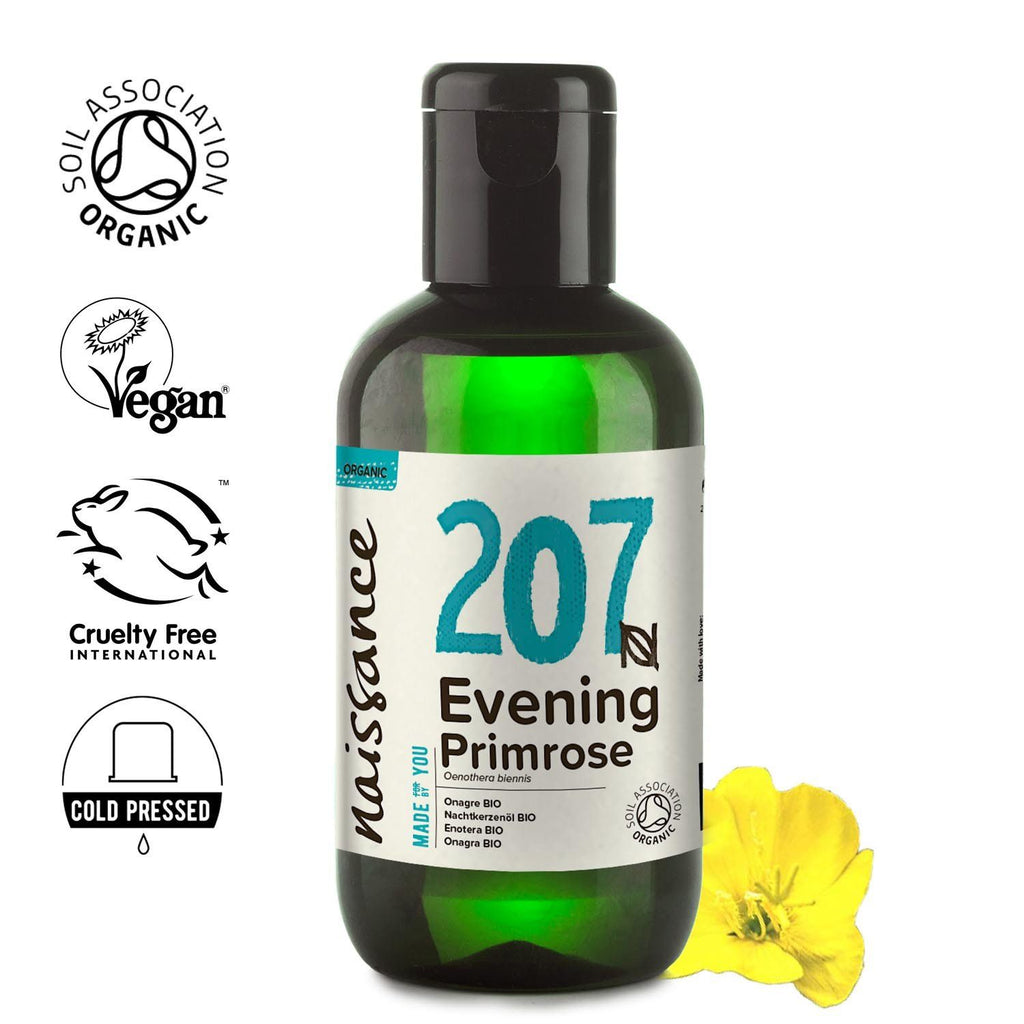 Naissance 100% Pure Organic Evening Primrose Oil.