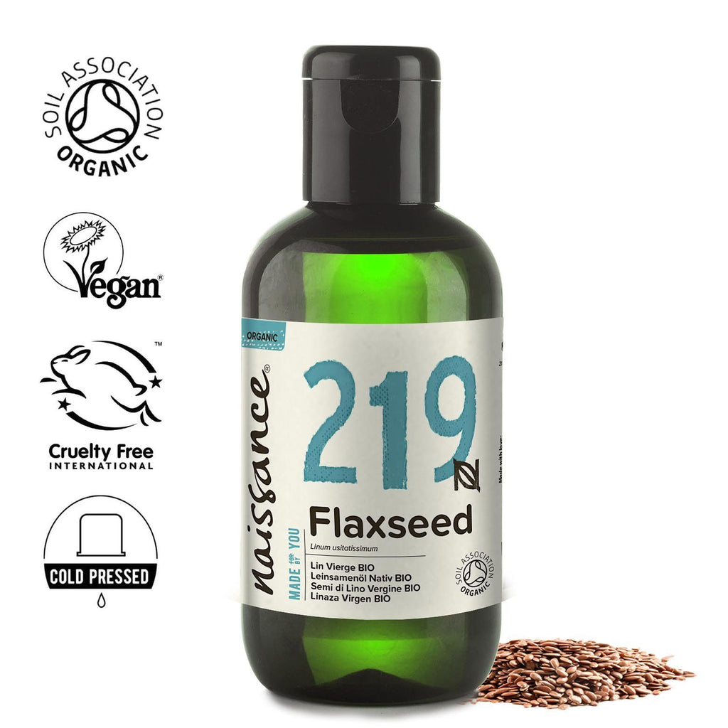 Naissance 100% pure, Organic Flaxseed (Linseed) Oil
