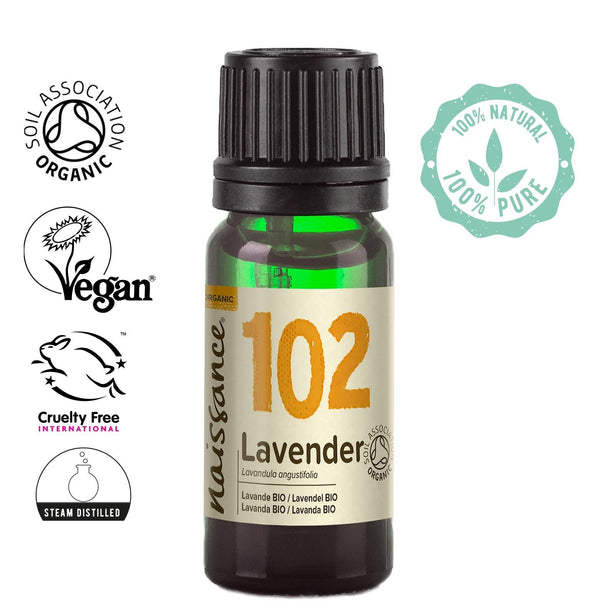 Naissance Steam Distilled Organic Lavender Essential Oil