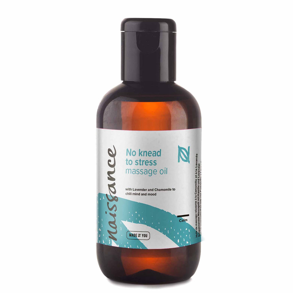 No Knead to Stress Relaxing Massage Oil