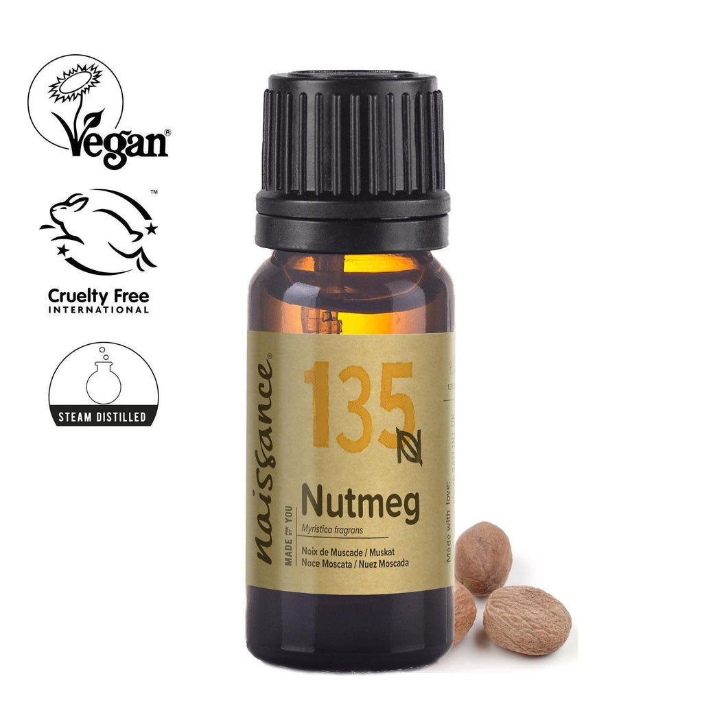 Naissance 100% pure steam distilled Nutmeg Essential Oil