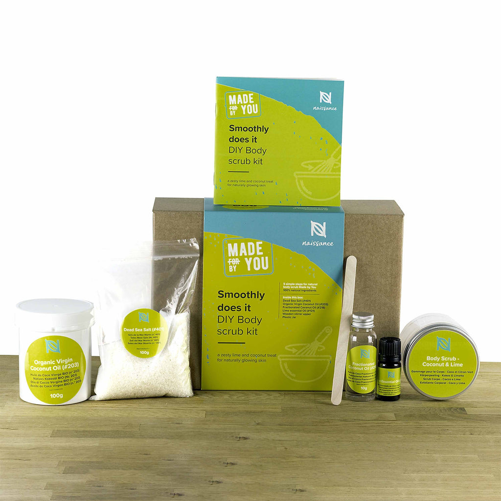 Smoothly Does It - DIY Body Scrub Kit
