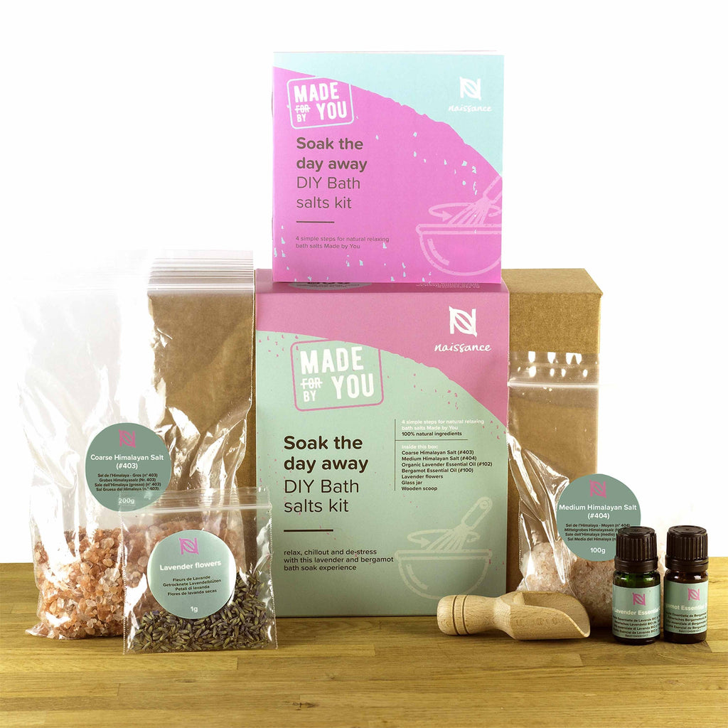 Naissance Soak the Day Away DIY Bath Salts Kit