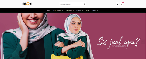 Sis Jual Website