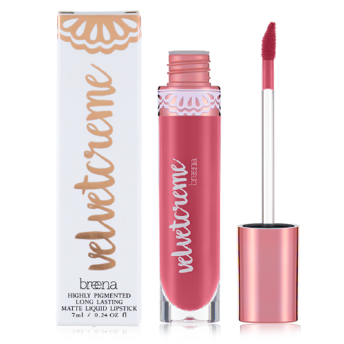 Breena Beauty Bubblegum Liquid Lipstick