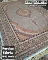 "Authentic Persian Carpet  '""Tabriz Mahi """
