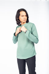 Kurta Plain MInt Green