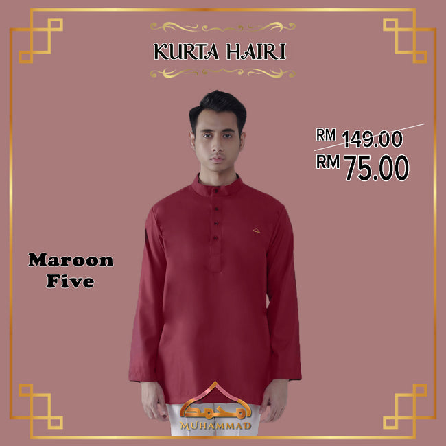 MUHAMMAD EXCLUSIVE Kurta Hairi