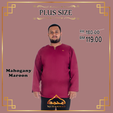 MUHAMMAD EXCLUSIVE KURTA PLUS SIZE COMFY FIT