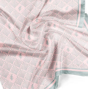 Argania Printed Scarves - BLUSH