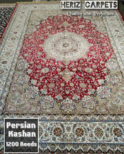 "Authentic Persian Carpet'""Kashan """