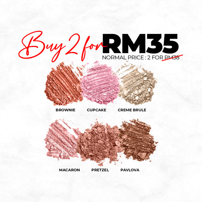 2 Argania Eyeshadow For RM35