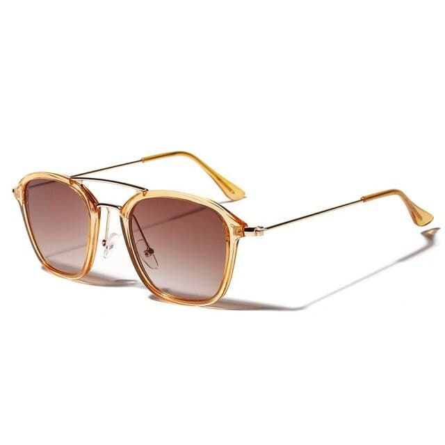 Rectangle Sunglasses Man Fashion Women Sunglass Beautiful Translucent Frame Glasses Brand Designed gafas de sol