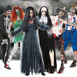 Scary Halloween Costumes for Adult Men Zombie Nurse Nun Bloody
