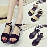 Summer Women Rome Shoes Sandals Gladiator Flats