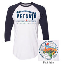 Load image into Gallery viewer, VetsAid 2019 Raglan Tee