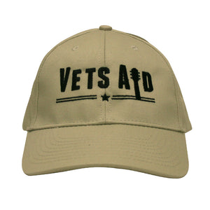 VetsAid Hat Stone with Black