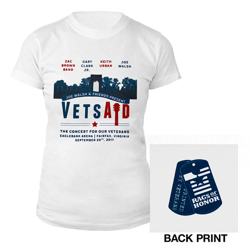 VetsAid 2017 Women's Tee