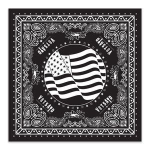 VetsAid 2019 Black Bandana
