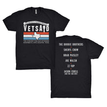 Load image into Gallery viewer, VetsAid  2019 Logo Black Tee