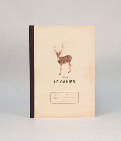 LE CAHIER EXERCISE BOOK LARGE DEER  -