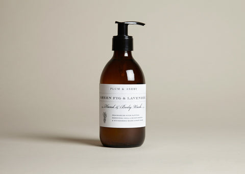 PLUM & ASHBY FIG AND LAVENDER HAND AND BODY LOTION  -