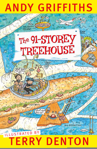 The 91-Storey Treehouse  by Andy Griffiths - 9781743549926