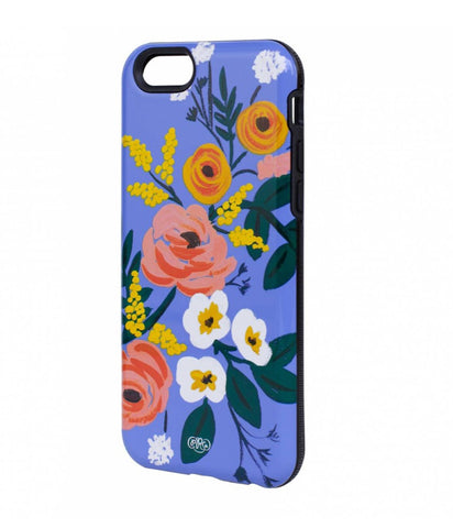 RIFLE IPHONE 6 CASE VIOLET FLORAL  -
