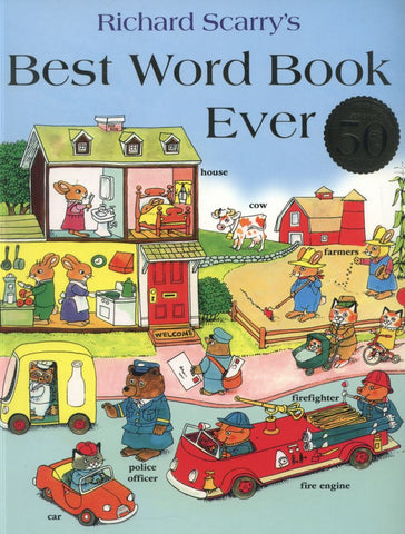 Best Word Book Ever  by Richard Scarry - 9780007507092