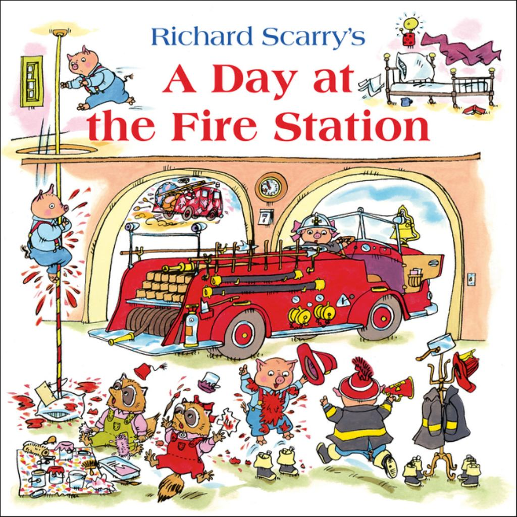A Day at the Fire Station  by Richard Scarry - 9780007574957