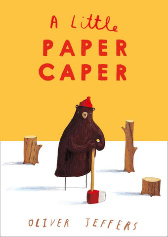 A Little Paper Caper  by Oliver Jeffers - 9780008276928