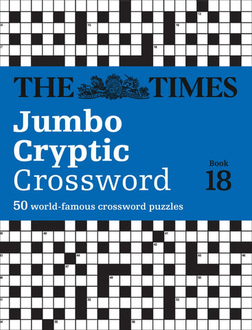 The Times Jumbo Cryptic Crossword  by The Times Mind Games - 9780008343705