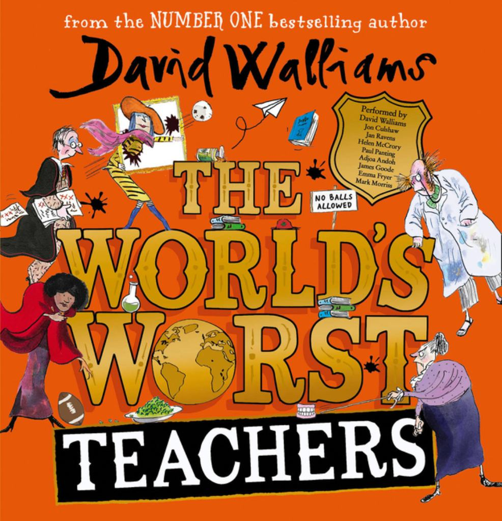 The World's Worst Teachers  by David Walliams (Read by) - 9780008364038