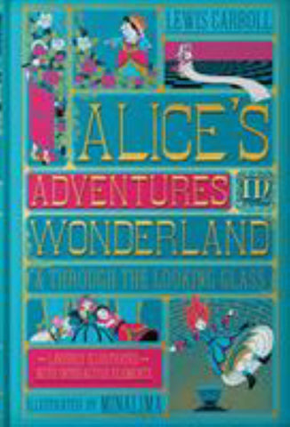 Alice's Adventures in Wonderland and Through the Looking-Glass  by Lewis Carroll - 9780062936615