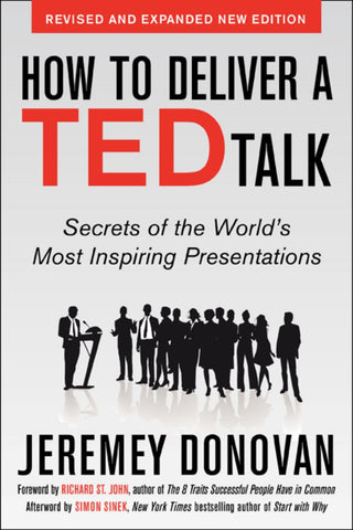 How to Deliver a Ted Talk  by Jeremey Donovan - 9780071831598
